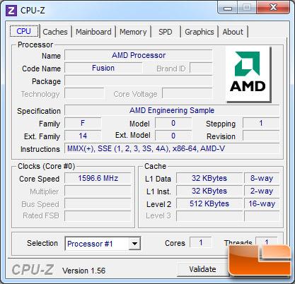 процессор amd zacate