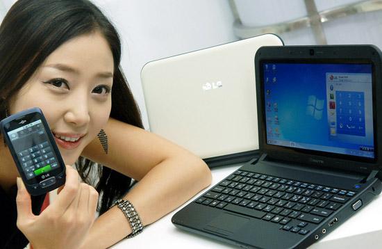 Нетбук LG XNote X170 – пока только для Кореи