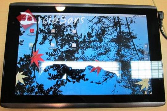 Планшетные ПК Acer  – анонс 23 ноября