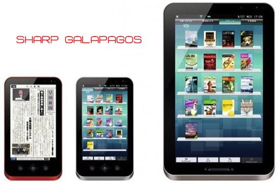 Планшетные ПК Sharp Galapagos