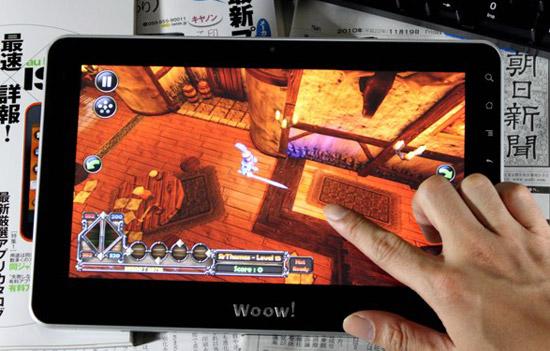 Планшет Woow! на Nvidia Tegra 2 и Android 3.0