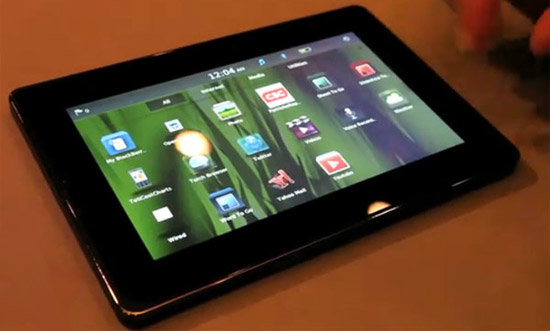 BlackBerry PlayBook – видео