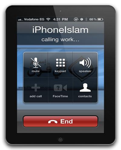 Звонки с iPad при помощи PhoneItiPad [Cydia]