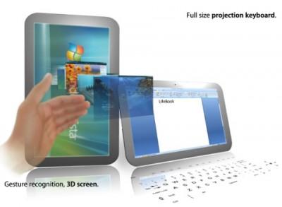 Новый способ управления планшетом – без прикосновений к экрану