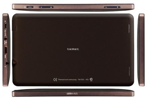 Бюджетный планшетный ПК teXet TM-7021